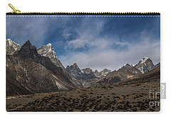 Carry-all Pouch featuring the photograph Thokla Pass Nepal by Mike Reid