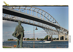 Thomas Edison And Blue Water Bridge 1 Carry-all Pouch