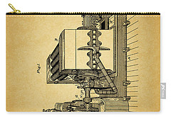 Thomas Edison Generator Patent Carry-all Pouch by Dan Sproul