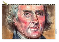 Thomas Jefferson Portrait Carry-all Pouch