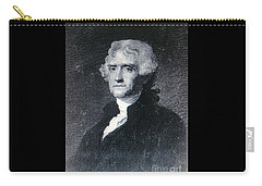 Carry-all Pouch featuring the photograph Thomas Jefferson by Richard W Linford