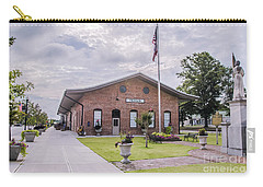 Carry-all Pouch featuring the photograph Thomson Georgia #smalltown by Andrea Anderegg