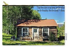 Thoreau--three Chairs Carry-all Pouch