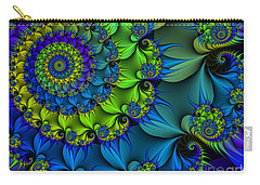 Thorn Flower Carry-all Pouch