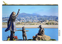Carry-all Pouch featuring the photograph Those Who Wait by AJ Schibig