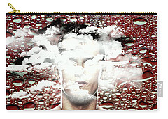 Thoughts Are Like Clouds Passing Through The Sky Carry-all Pouch