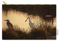 Carry-all Pouch featuring the photograph Thoughts On Sunset 02 by Arik Baltinester
