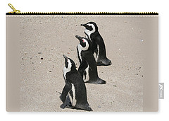 Three African Penguins Carry-all Pouch
