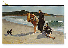 Three Bathers Carry-all Pouch by  Newwwman