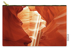 Carry-all Pouch featuring the photograph Three Beams by Norman Hall