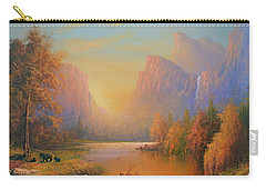 Yosemite National Park Carry-all Pouch by Joe Gilronan