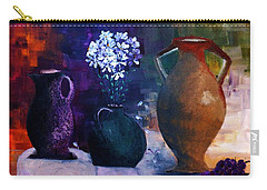 Three Best Friends Carry-all Pouch by Lisa Kaiser