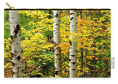 Three Birch Carry-all Pouch