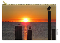 Three Birds In The Sunset Carry-all Pouch