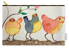 Three Birds  Carry-all Pouch