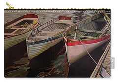 Three Boats Carry-all Pouch by Thu Nguyen