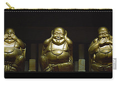 Three Buddhas Carry-all Pouch