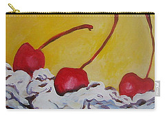 Three Cherries Carry-all Pouch