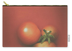 Three Cherry Tomatoes Carry-all Pouch by Scott Norris