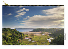 Three Cliffs Bay 6 Carry-all Pouch