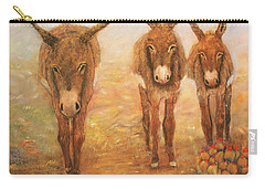 Three Donkeys Carry-all Pouch