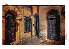Three Doors In Warsaw Carry-all Pouch by Carol Japp