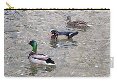 Three Ducks Carry-all Pouch