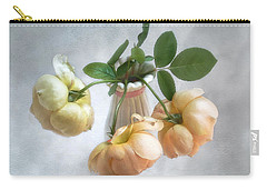 Three English Roses Carry-all Pouch