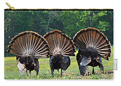 Three Fans Carry-all Pouch by Todd Hostetter