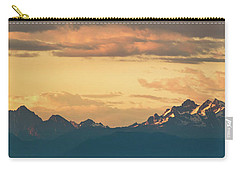 Three Fingers Mountain Carry-all Pouch by Ed Clark