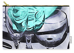 Three Glass Illusion Carry-all Pouch