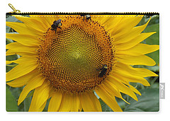 Three Is A Crowd Carry-all Pouch by Virginia Coyle