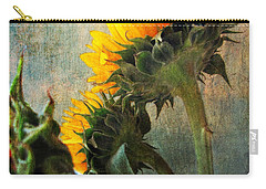 Carry-all Pouch featuring the photograph Three by John Rivera