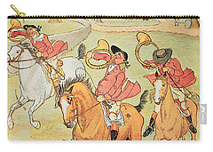 Three Jovial Huntsmen Carry-all Pouch by Randolph Caldecott