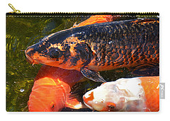 Three Koi Waiting Carry-all Pouch