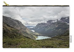 Three Lakes Viewed From Grinnell Glacier Carry-all Pouch