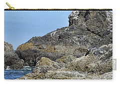 Carry-all Pouch featuring the photograph Three Little Birds by Peggy Hughes