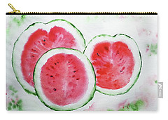 Three Melons Carry-all Pouch