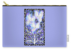 Carry-all Pouch featuring the painting Three Messengers by Lise Winne
