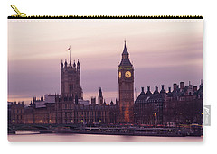 Carry-all Pouch featuring the photograph Three Minutes After Sunset by Alex Lapidus