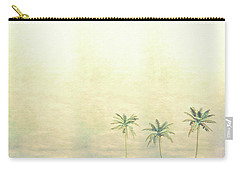 Three Palms In Color Carry-all Pouch