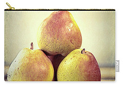 Three Pears Stacked Carry-all Pouch by Linda Olsen