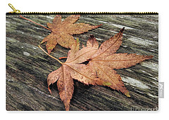 Carry-all Pouch featuring the photograph Three by Peggy Hughes