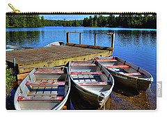 Three Rowboats Carry-all Pouch by David Patterson