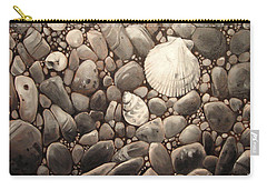 Three Shells Carry-all Pouch by Mary Hubley