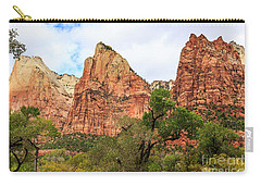 Three Sisters At Zion Carry-all Pouch
