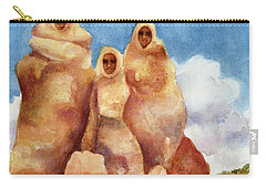 Three Sisters Of Ghost Ranch Carry-all Pouch