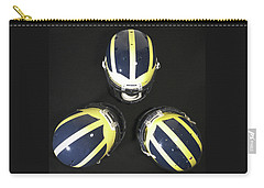Three Striped Wolverine Helmets Carry-all Pouch