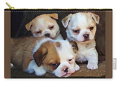 Three Sweeties Carry-all Pouch