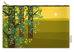 Three Trees In The Spring Carry-all Pouch
